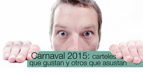 Carteles del Carnaval 2015: museo del placer y del horror